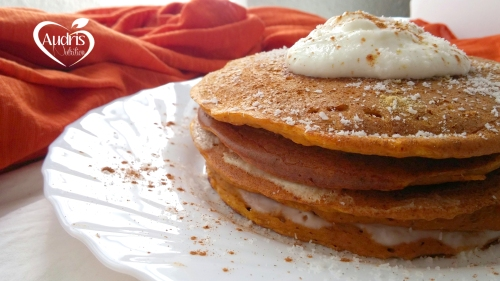 Tortitas de zanahoria y jengibre/ Carrot & Ginger Pancakes
