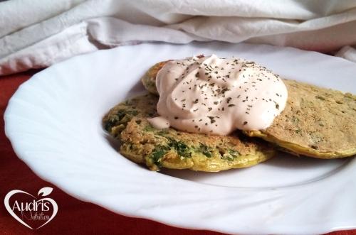 Tortitas de espinacas/ Spinach pancakes