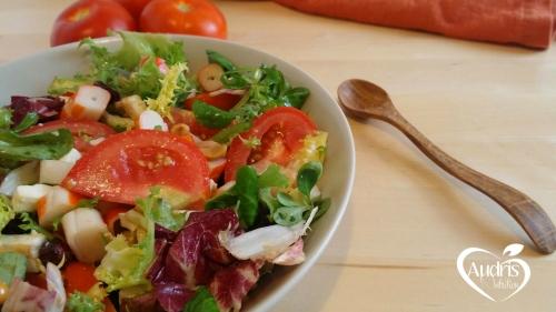 Ensalada de queso feta y arandanos/ Feta&Cranberry salad